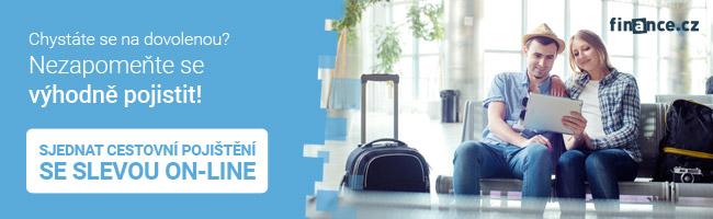 Cestovní pojištění on-line