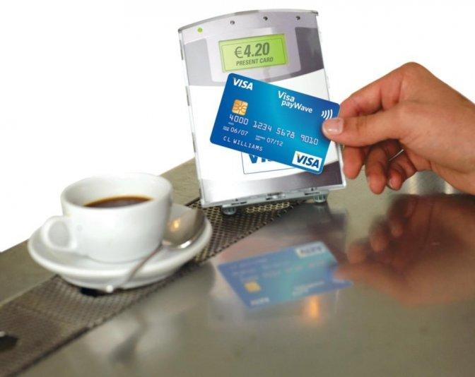 Platení kartou v reštaurácii