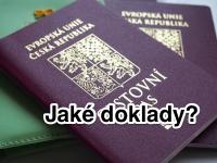 Cestovní doklady na dovolenou