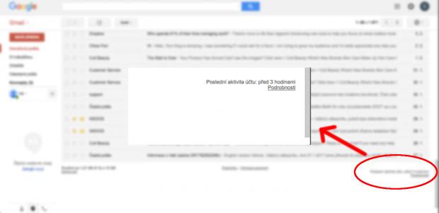 Blokace Gmail účtu - ztracený telefon