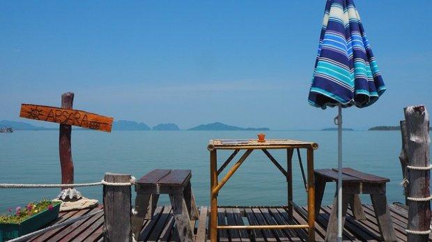 Home office: o prázdninách u moře