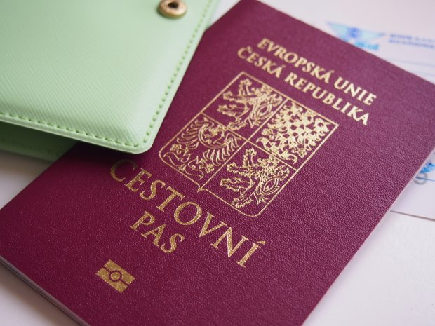 Cestovní pas Česká republika