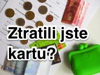 Ztráta platební karty v zahraničí
