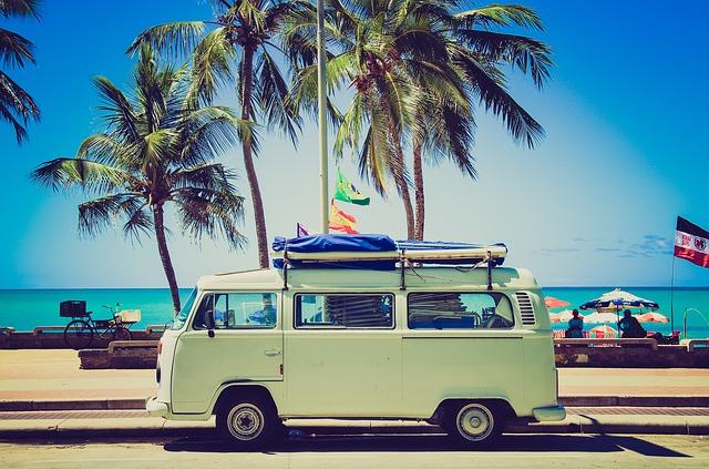 Dojeďte autem až k moři