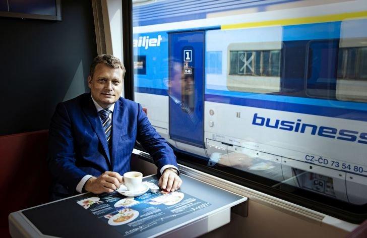 generální ředitel a předseda představenstva ČD,a.s., Pavel Krtek