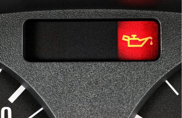 Spotřeba paliva - kontrolka