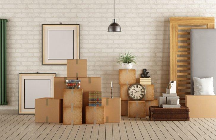 Stěhování a opuštění bytu, konec nájmu
