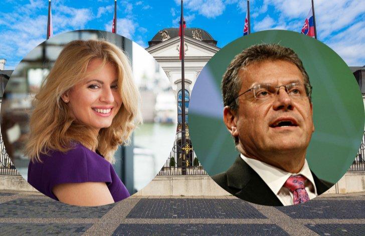 Čaputová vs. Šefčovič: Porovnanie kandidátov na prezidenta