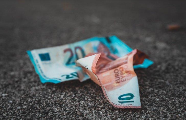 peniaze bankovky eura