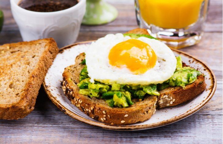 Zdravé jídlo - polovina zdraví