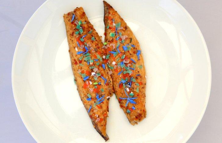 Mikroplasty v rybách