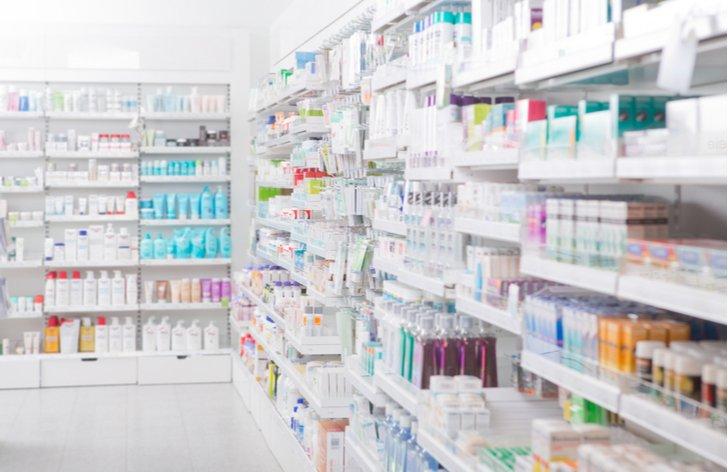 Dárek k vánocům v lékárně