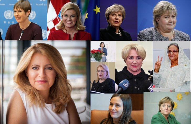 Prezidentky a premiérky vo svete (+ zoznam krajín)