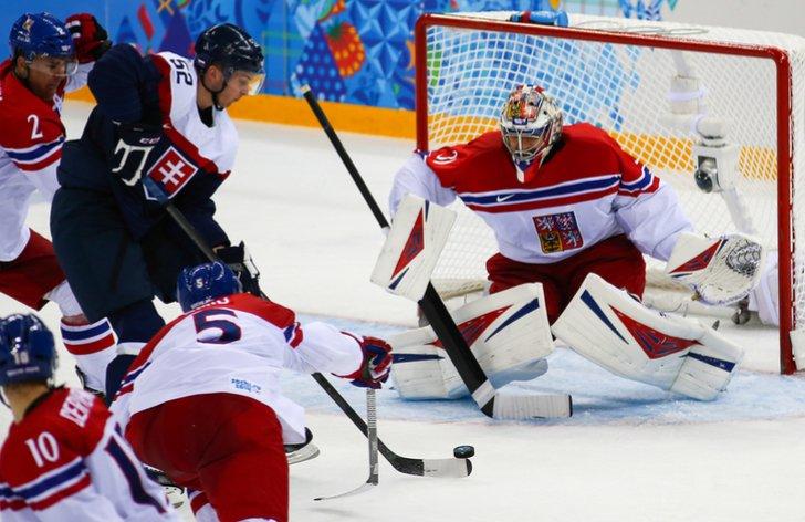 Česko vs. Slovensko hokej