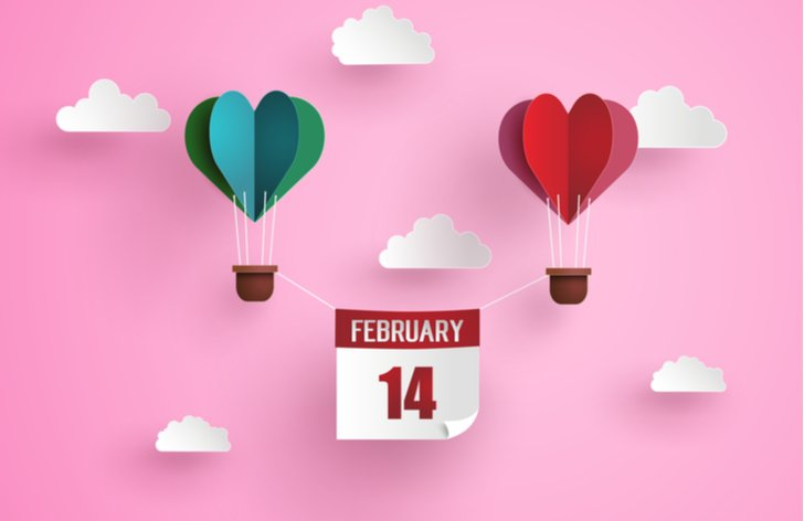 Kedy je Valentín 2020
