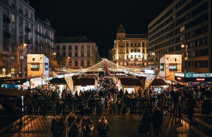 vianočné trhy v budapešti: ceny, parkovanie, čo vidieť