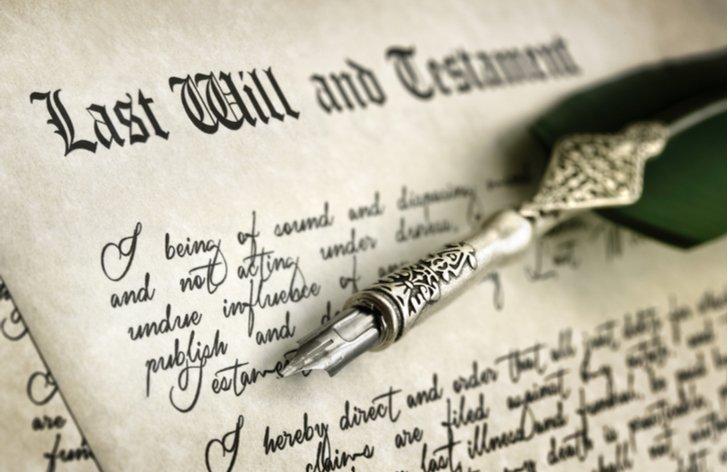 Závěť - jak napsat, u notáře, nepominutelný dědic