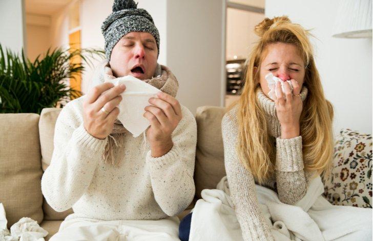 Nemocný pár