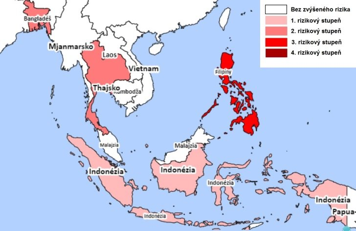 Rizikové oblasti Indonézie