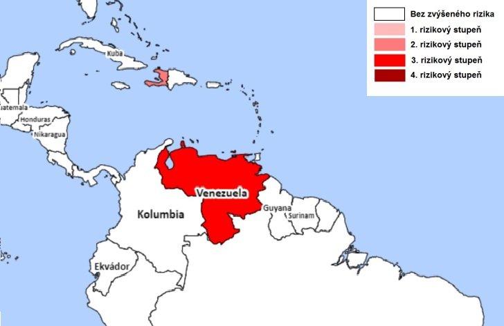 Rizikové oblasti Južnej Ameriky