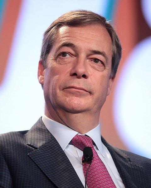 Volební lídr Farage