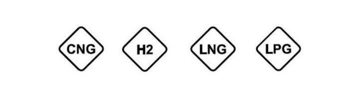 Značka plynných pohonných látok