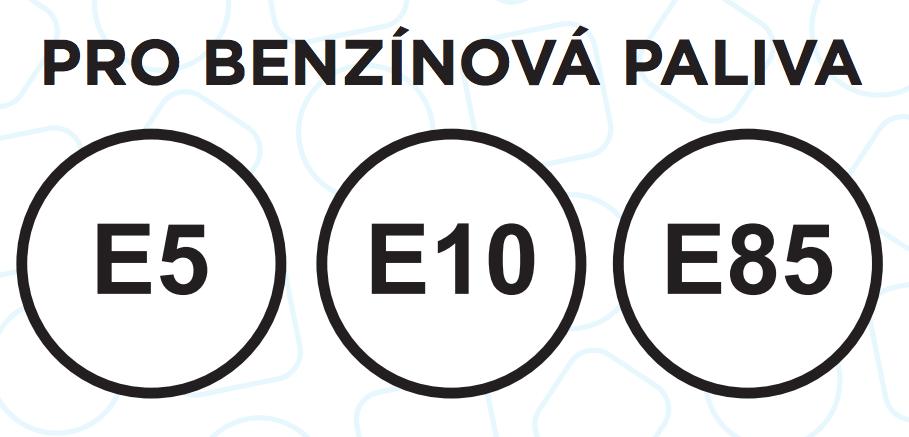 Nové značení benzínu, E a číslo v kroužku
