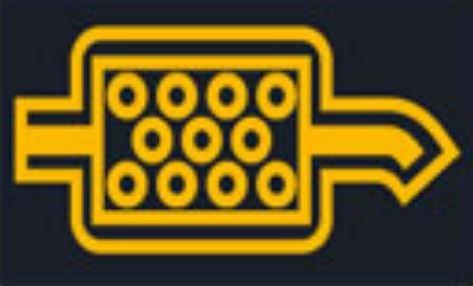 Kontrolka - filtr pevných částic