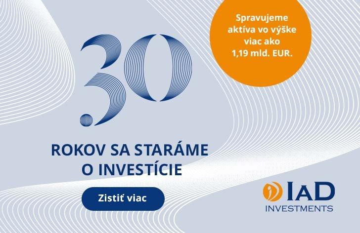 Priaznivý kurz pre vaše investície už 30 rokov