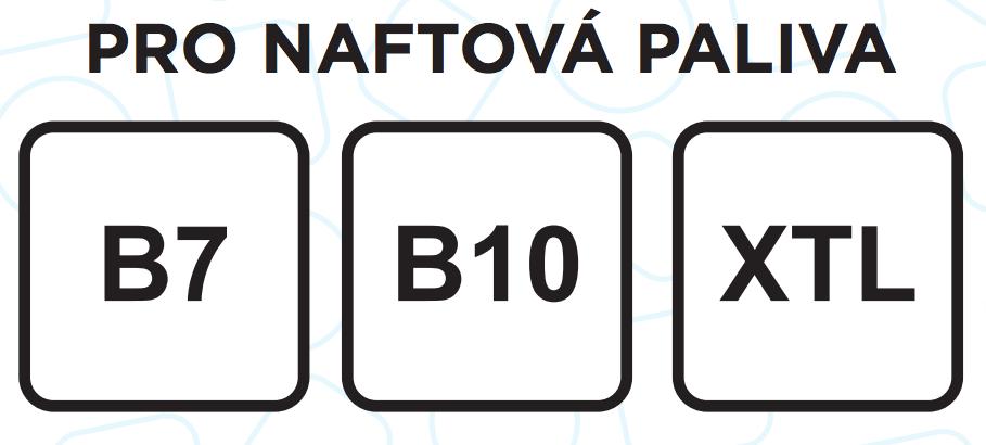 Nové značení nafty, B a číslo ve čtverečku